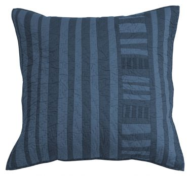 Strings Attached Dusk Quilted Euro Sham
