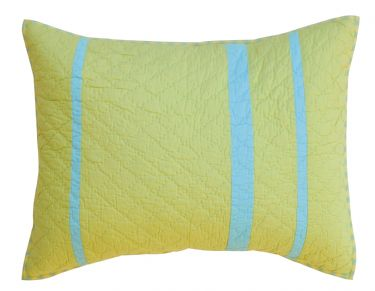 Strings Attached Spring Pillow Sham