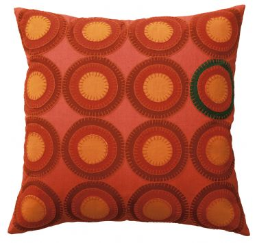 DS Accent Pillow Collection Penny Red