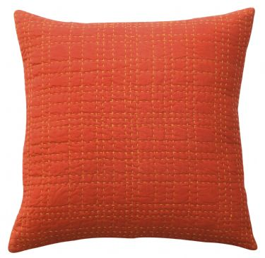DS Accent Pillow Collection Big Stitch Red