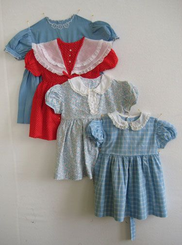 Wendy's Quilt Childhood Dresses