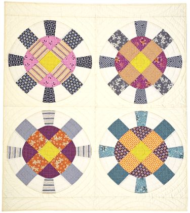Cog + Wheel Quilt Pattern Twin