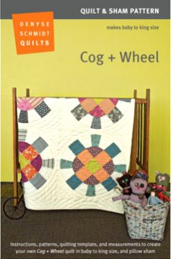 Cog + Wheel Quilt Pattern Packaging