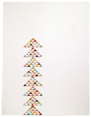 Point Me Quilt Pattern  Twin