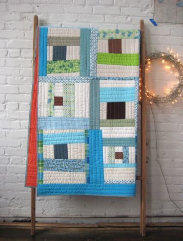 Picnic and Fairground McCall Spool Pattern Quilt