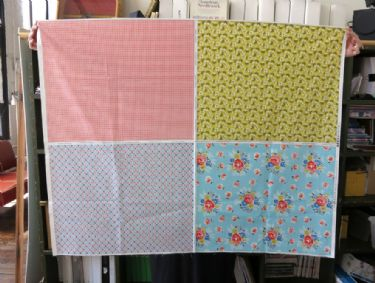Quilter's Quarters one panel, four prints!