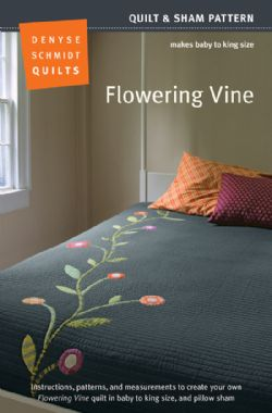 Flowering Vine Quilt Pattern - new! packaging