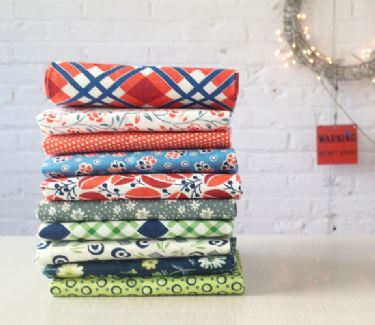 Bakersfield and Union Station fat quarter bundle