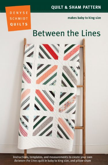 Between the Lines Quilt Pattern – PDF packaging