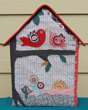Florence Challenge Projects Bird House by Dea Larson