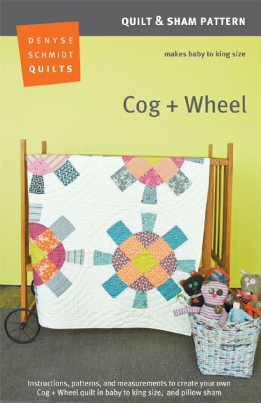 Hope Valley Cog & Wheel quilt pattern