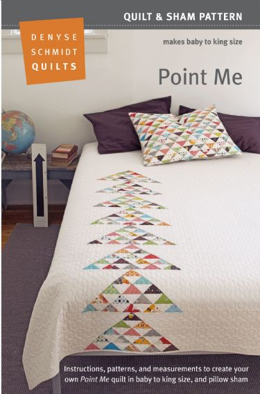 Flea Market Fancy – legacy reprint! Point Me quilt pattern