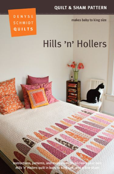 Hills 'n' Hollers Quilt Pattern Packaging