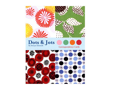 Dots & Jots Correspondence Cards Packaging