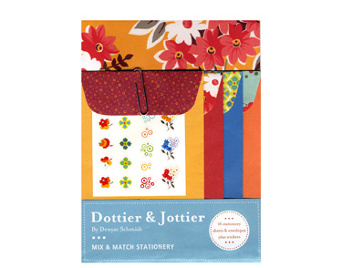 Dottier & Jottier Mix and Match Stationery Packaging