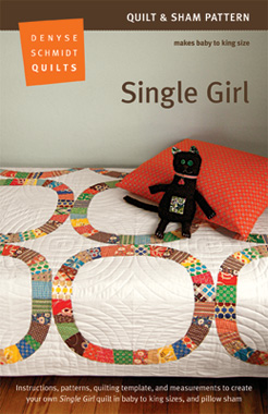 Single Girl Quilt Pattern Packaging